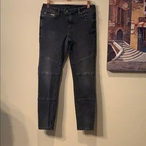 All Saint Biker Cropped Jeans